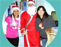 Weihnachten in einer deutschen Sprachlehrer-Familie