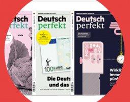 Deutsch perfekt – the July issue