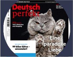 Deutsch perfekt – the new  issue